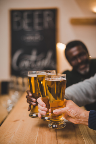 Celebrating International Beer Day in Ronkonkoma